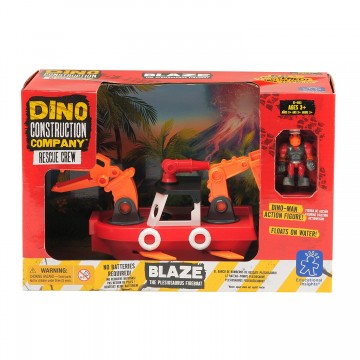 BLAZE PLESIOSAURUS BARCO BOMBERO - Learning Resources