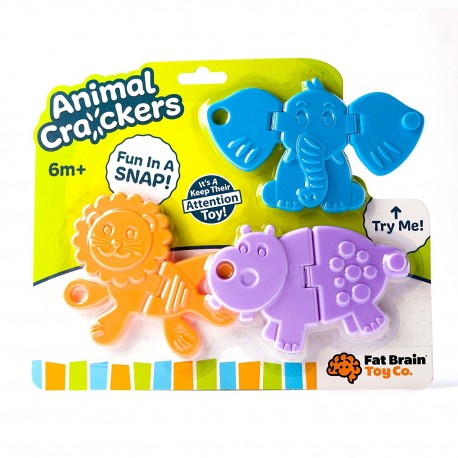 JUGUETE ANIMAL CRACKERS BEBE - Fat Brain