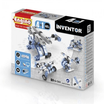 CONSTRUCCION INVENTOR ARICRAFT 4 IN 1