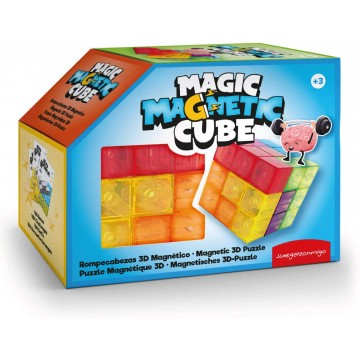 MAGIC MAGNETIC CUBE - Juega Conmingo