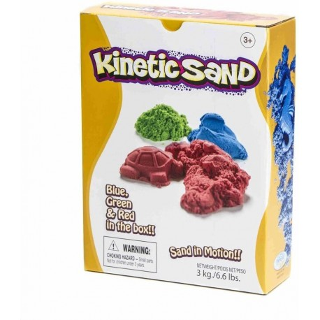 KINETIC SAND PACK 3 COLORES - Waba fun