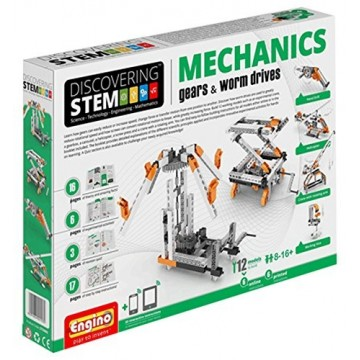 STEM MECHANICS GEARS AND WORN DRIVES SET BY ENGINO