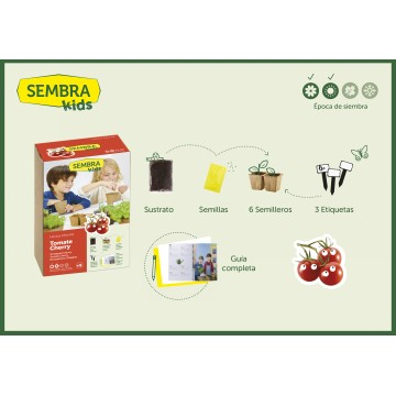 SEMBRA - Mini Kit de tomate cherry …