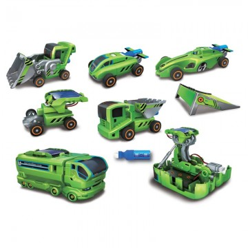 SET DE 6 VEHICULOS SOLARES