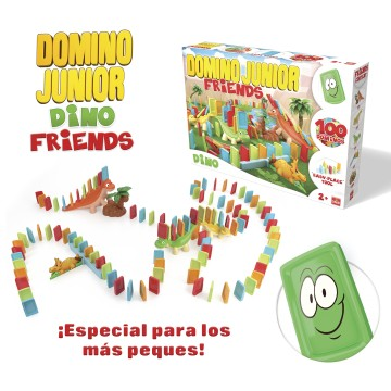 DOMINO JUNIOR FRIENDS DINO