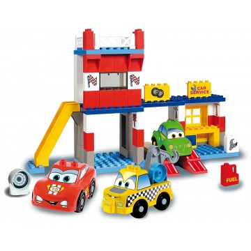 UNICO CARS FOR KIDS 8563 -JUEDO DE CONSTRUCCION DE GARAGE (108 piezas)