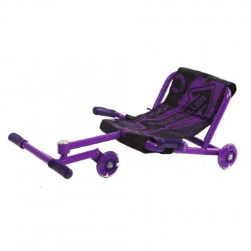 WAVE ROLLER COLOR MORADO - Patinete con silla