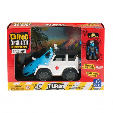 TRICERATOPS COCHE POLICIA - Learning Resources