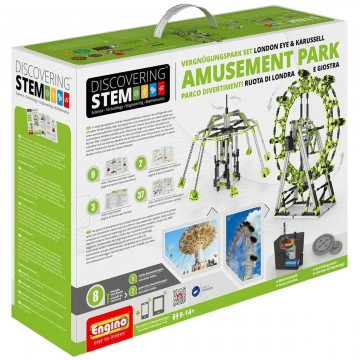 CONSTRUCCION AMUSEENT PARK SET - DISCOVERING STEM -Engino