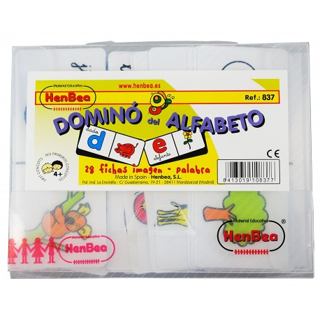 DOMINO ALFABETO INGLES
