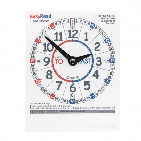 RELOJ ESTUDIANTE TO / PAST