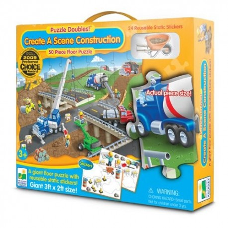 PUZZLE DOBLE CONSTRUCCION