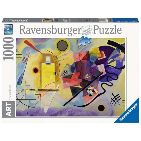 PUZLE KANDINSKY, WASSILY: YELLOW, RED, BLUE(1000 PZAS) - Ravensburger