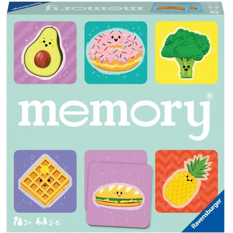 MEMORY FUNNY FOOD - Ravensburger