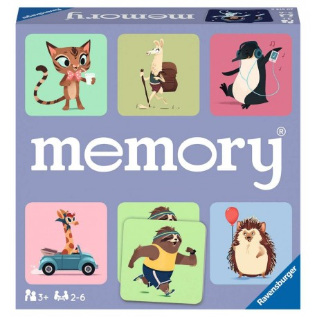 MEMORY HAPPY ANIMALS - Ravensburger