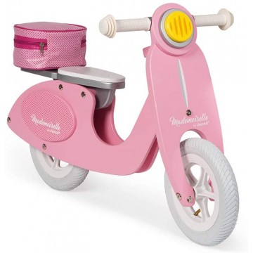 BICICLETA SCOOTER ROSA MADEMOISELLE - Janod