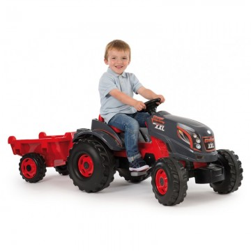 TRACTOR STRONGER XXL + REMOLQUE - Smoby