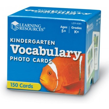 VOCABULARIO PHOTO CARD - Learning Resources