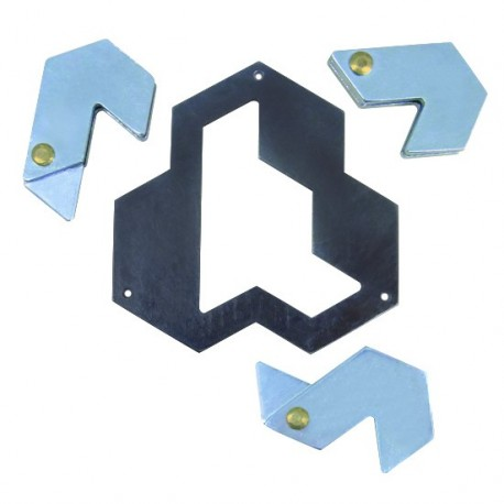 PUZZLE ROMPECABEZAS HEXAGON