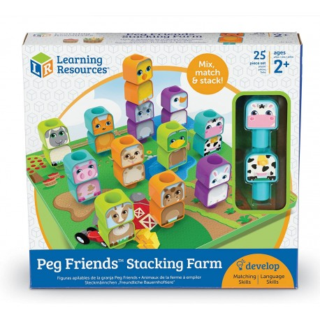 PEG FRIENDS STAKING FARM - Learning Resources