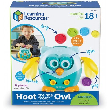 HOOT BUHO MOTRICIDAD FINA - Learning Resources